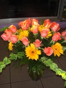 Roses And Gerbers
