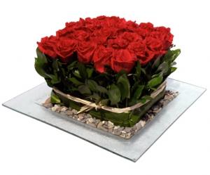Roses Tray