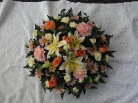 Round Posy Cushion Pad