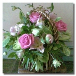 Rustic Basket Of Flowers...