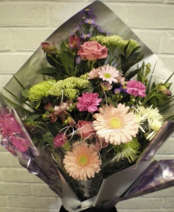 Shimmering Pink Bouquet