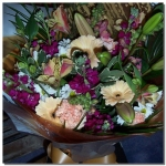 Small Handtied Bouquet Of Flowers...