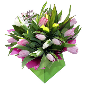 Spring Tulip Gift Box