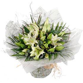 Stunning Lily Aqua Bouquet