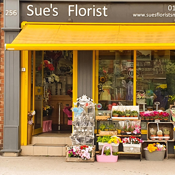Sue's Florist - Eccles
