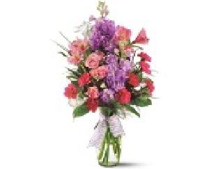 Sweet Lavender Vase