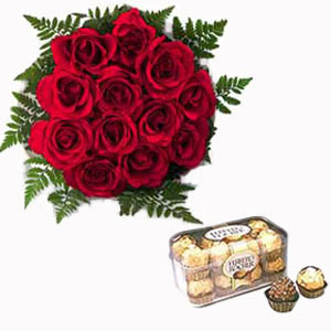 Sweet Roses And Chocolates
