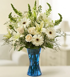 Sympathy Arrangement In White
