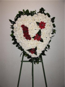Sympathy Flower Hearth