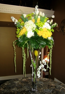 Tall Foyer Arrangement