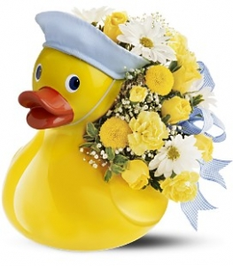 Teleflora's Just Ducky Bouquet