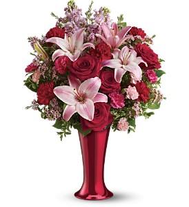 Teleflora's Red Hot Bouquet - Deluxe