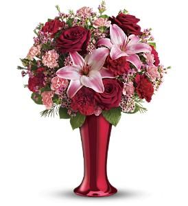 Teleflora's Red Hot Bouquet
