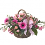 Tickled Pink Basket