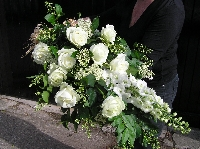 Tied Funeral Spray