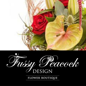 Tiger Lily Florist and Fussy Peacock Design
