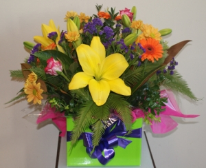 Vibrant Box Arrangement
