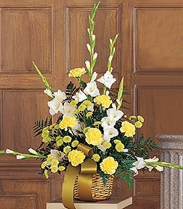 Vibrant Yellow Arrangement