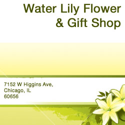 Water Lily Flower and Gift Shop