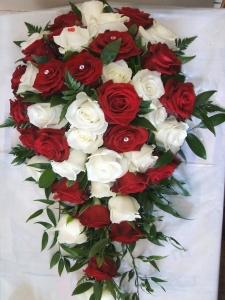 Wedding Brides Bouquet.