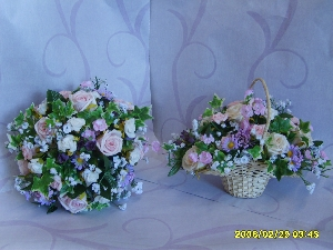 Wedding Posies And Baskets