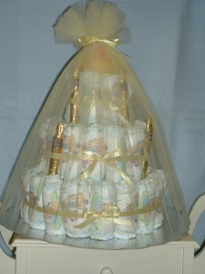 Welcome Baby Diaper Cake