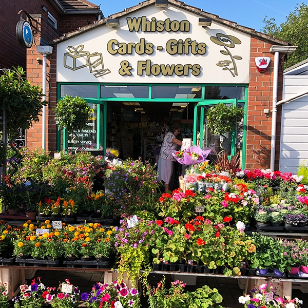 Whiston Cards Gifts and Flowers