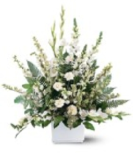 White Expressions Basket