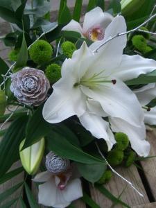 White Festive Bouquet