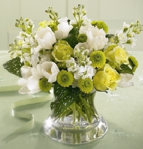 White Modern Arrangement
