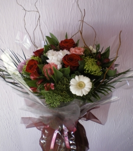 Winter Woodland Hand Tied