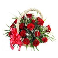 Wonder Rose Basket