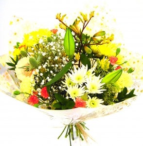 Yellow Bouquet Delivered