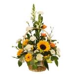Yellow-White Basket